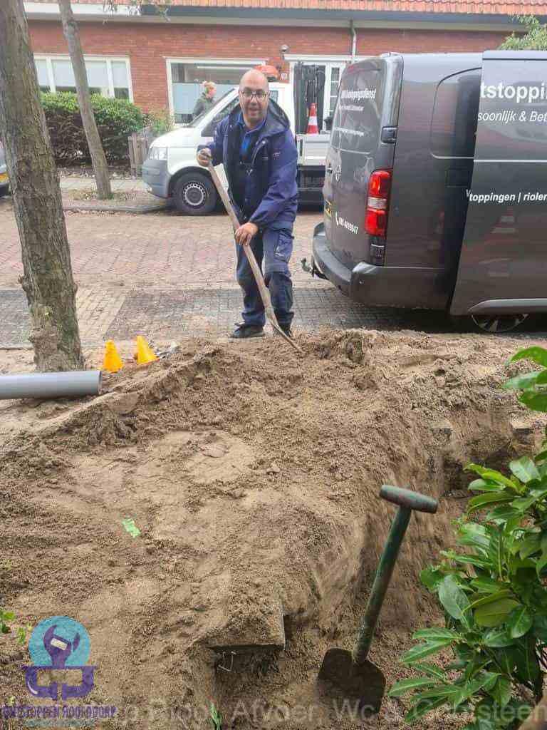 Riool ontstoppen Hoofddorp graven